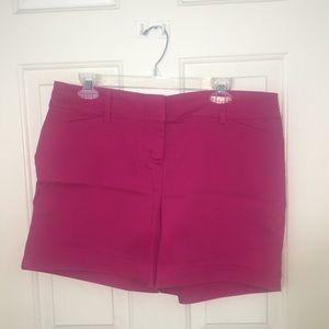 The Limited Fuchsia Shorts-12